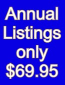 Repo-Companies annual listings only $69.95